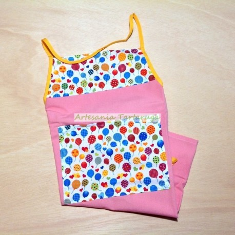 Handmade children's apron
