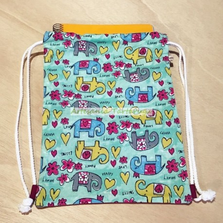 Handmade schoolbag for children