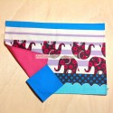Save tablecloth with elephants