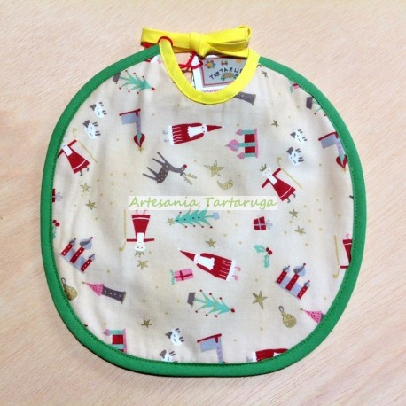 Medium bib Christmas