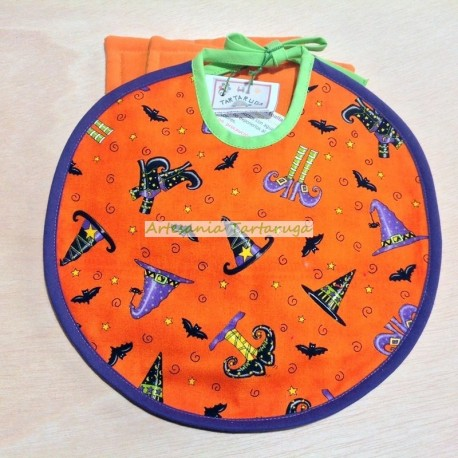 Medium bib halloween