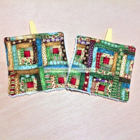 Christmas potholders