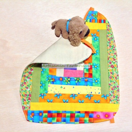 Large Bib patchwork