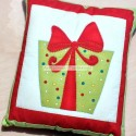 Handmade Christmas cushion