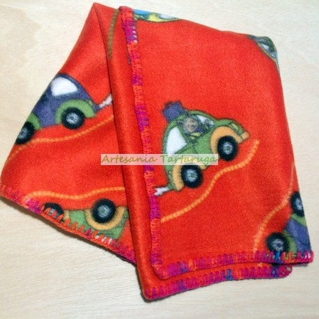 Blanket with cars