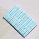 Checkered fabric cover