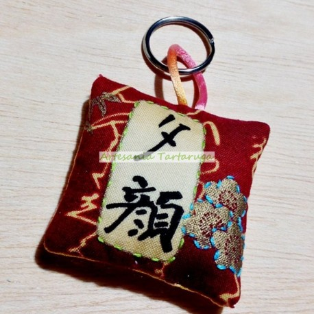 Asian key chain