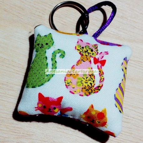 Cats key chain