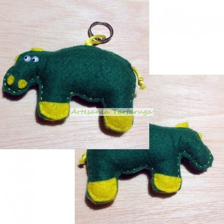 Hippotamus Key Chain