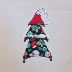 Handmade Christmas tree hanging