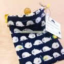 Pacifier bag with seals and submarines