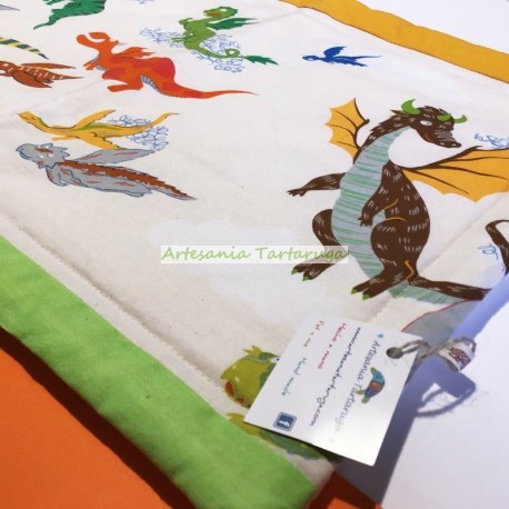 Dragons save tablecloth