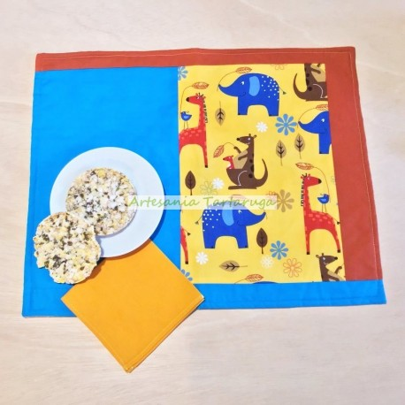 Save tablecloth for children