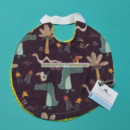 Medium bib with elastic band