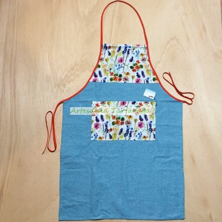Handmade canvas apron
