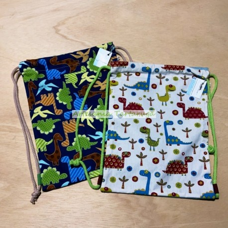 Schoolbags with dinosaurs. Large notebook size.