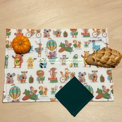 Handmade save tablecloth for children